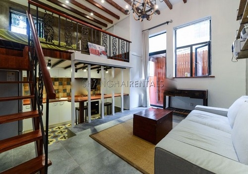 Das Beste 1 Br Duplex Apartment In Former French Concession In Diesem Monat