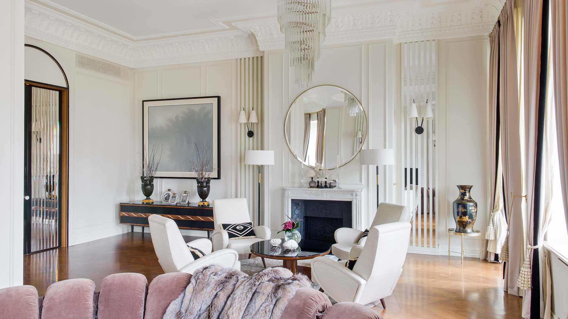 Das Beste This Art Deco Inspired Apartment In Moscow Serves As An In Diesem Monat