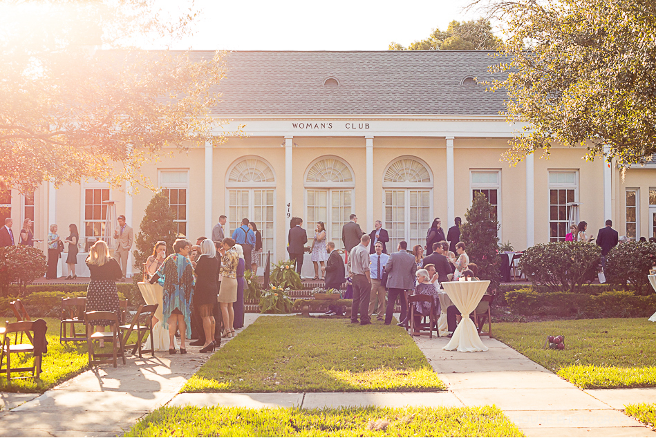 The Woman's Club of Winter Park Wedding
