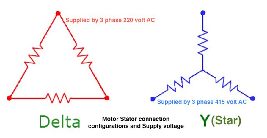 Star Delta Motor Connection Diagram