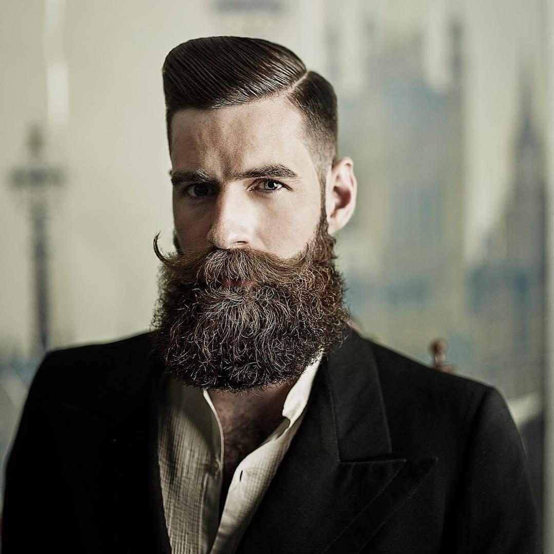 Men Trim Haircut Long Hair
