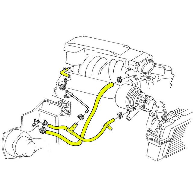 System Cooling Corvette C3