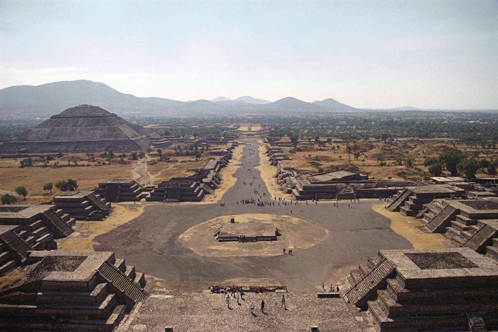 Tecnologia Robot Scopre Strane Sfere Vicino Teotihuacan
