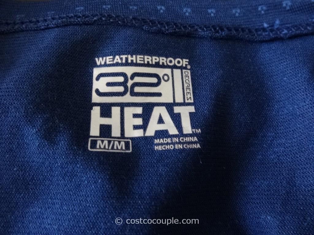 Weatherproof 32 Degrees Heat Ladies Long Sleeve Tee
