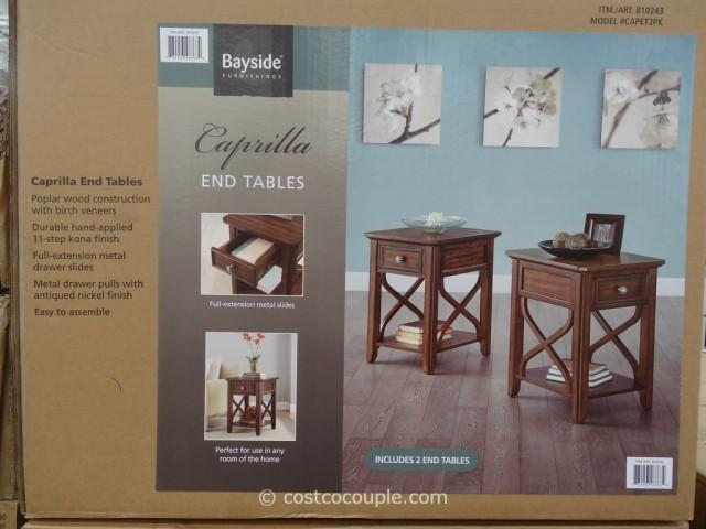 Coffee Table Fabric Storage
