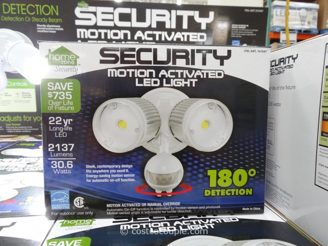 Home Zone Motion Activated Led Security Light