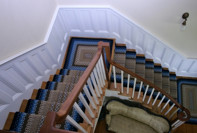 Custom Rugs – Custom Braided Rugs   Solid Color Stair Runners   Non Slip   Rectangle   Rubber Backed   Modern Stair   Flooring