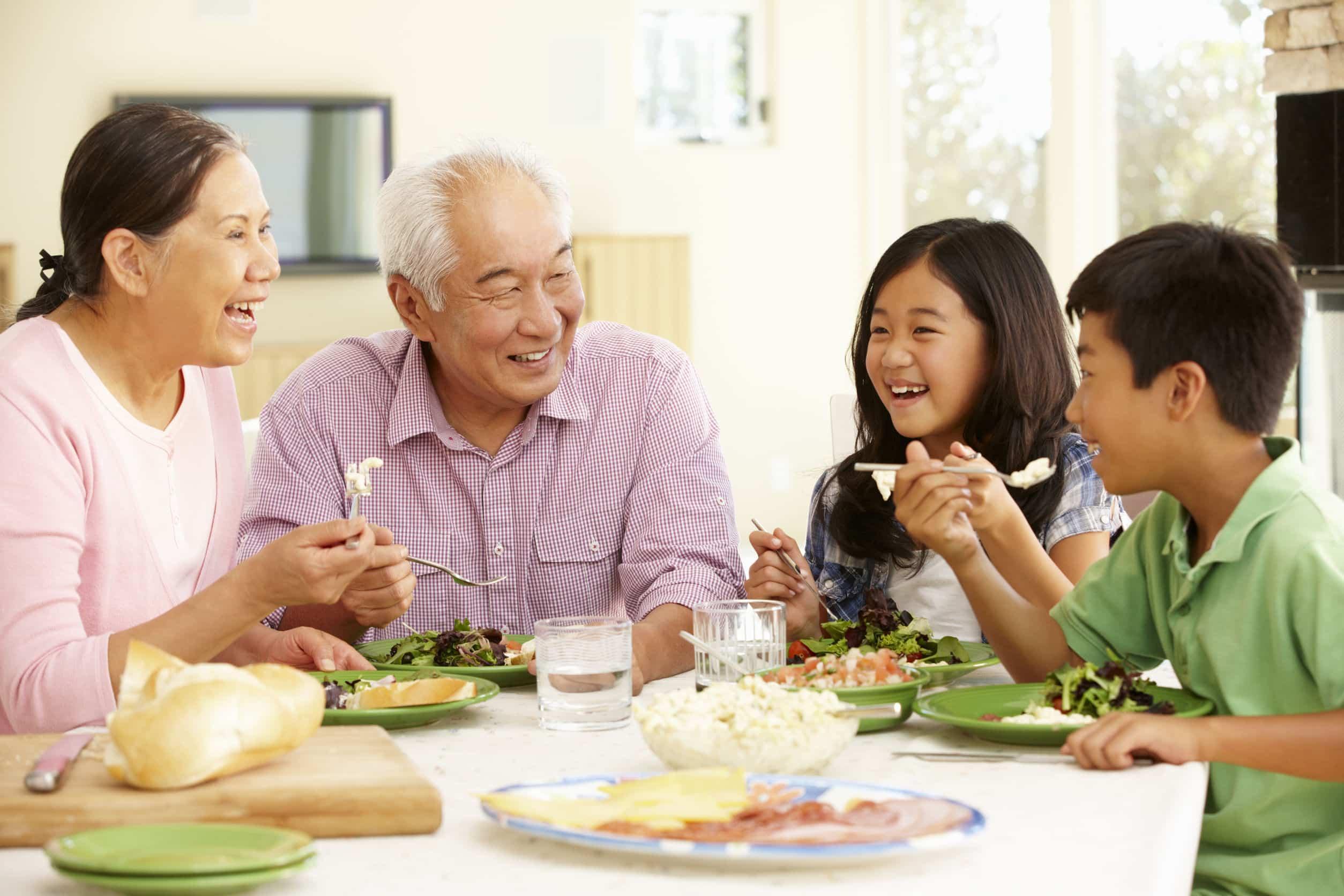 Benefits Family Dinner