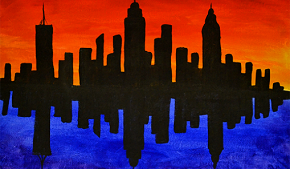 All Ages Welcome  NYC Skyline  Ages 7 and up    Kids Painting     All Ages Welcome  NYC Skyline  Ages 7 and up