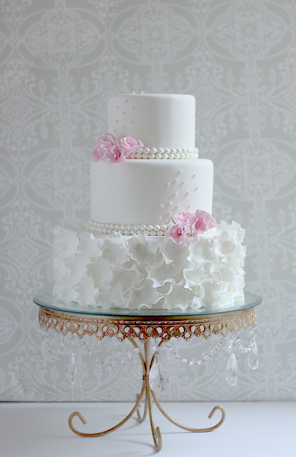 Martha Stewarts Wedding Cakes