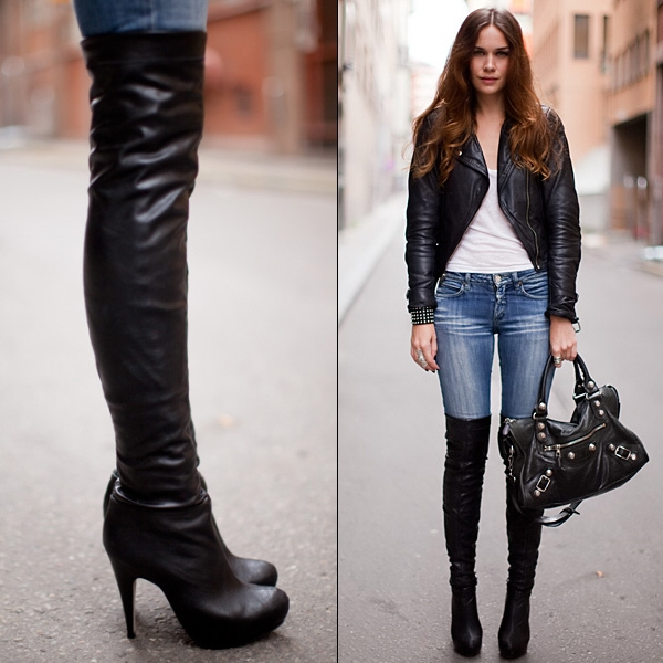 Thoughts on over the knee boots? : femalefashionadvice