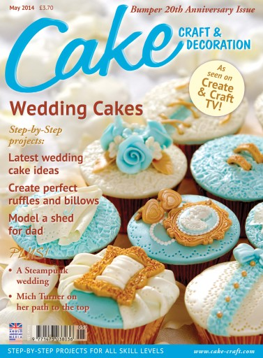 Cake Decoration   Sugarcraft Magazine   May 2014 Subscriptions     Title Cover Preview Cake Decoration   Sugarcraft Magazine Preview