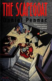 Daniel Pennac   Open Library Cover of  The scapegoat