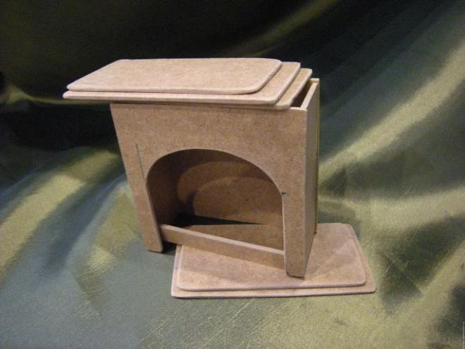 Камин из коробочки