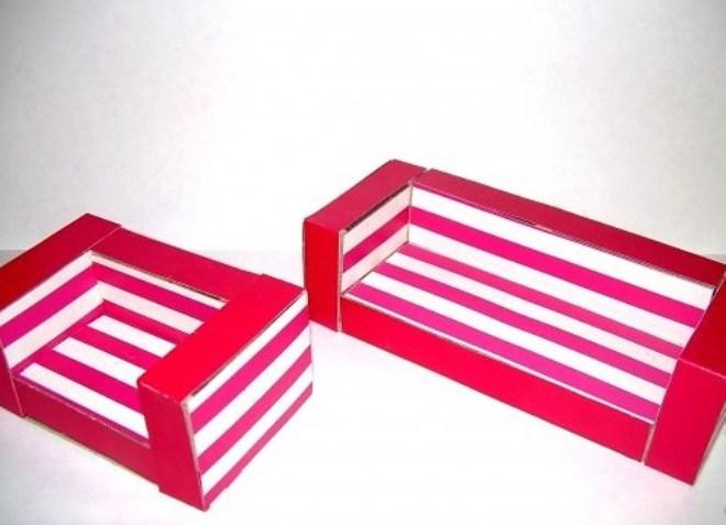 Karosszék a mérkőzés dobozokból