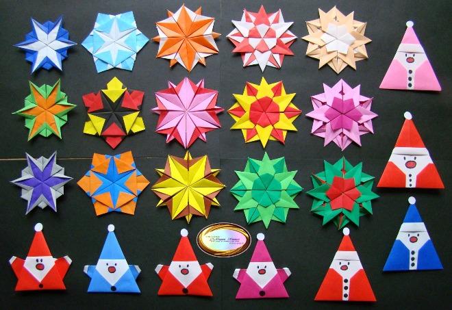 Origami'de Yılbaşı El Sanatları