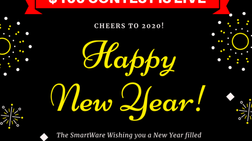 Happy New Year 2020 - $100 Contest is LIVE!