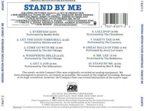 Stand by Me - Original Soundtrack | Songs, Reviews ...