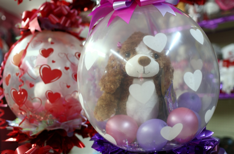 Dia De San Valentin De Globos
