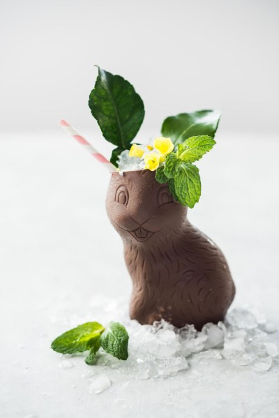Easter on Easter Island, Chocolate Bunny Cocktail - Craft ...