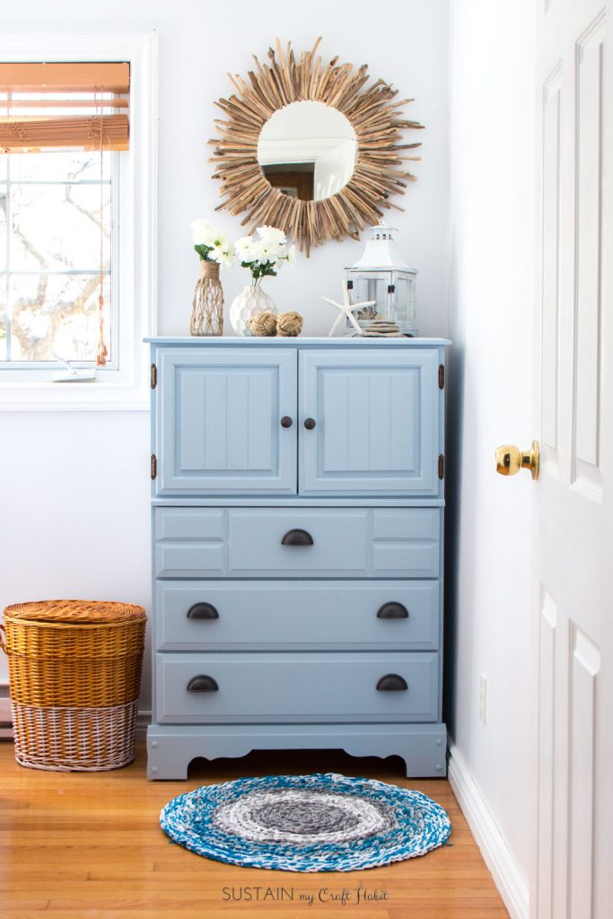 19 Painted Furniture Makeovers In Coastal Color Palettes