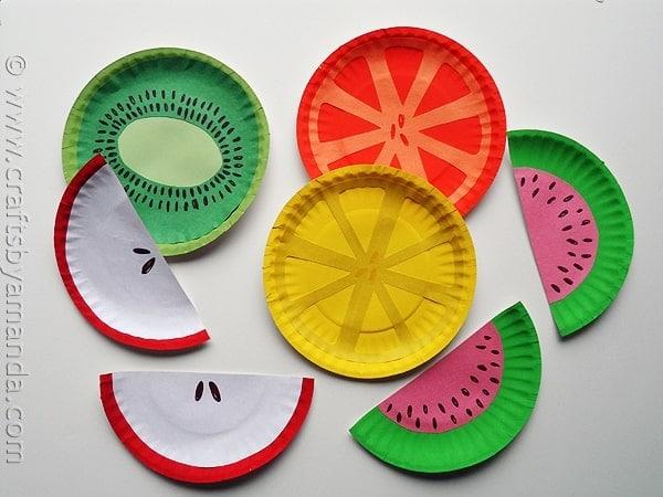 Christmas Fruit Plate Ideas