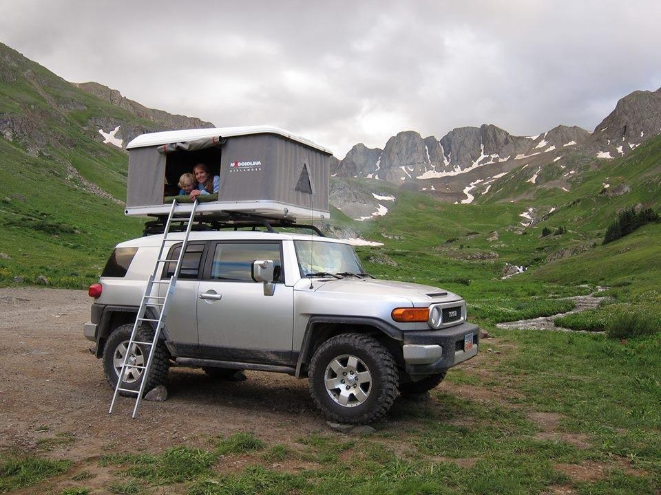 & Fj Cruiser Roof Top Tent