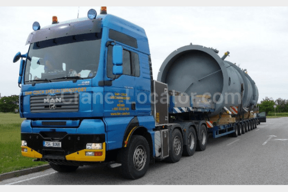 Heavy duty tractor unit MAN TGA 41 660 look on the map using Crane     Heavy duty tractor unit MAN TGA 41 660