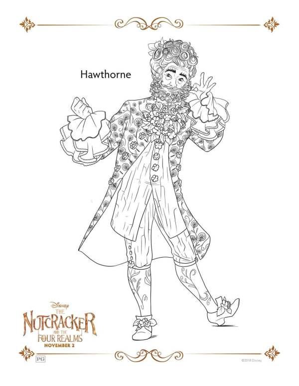 nutcracker coloring page # 23