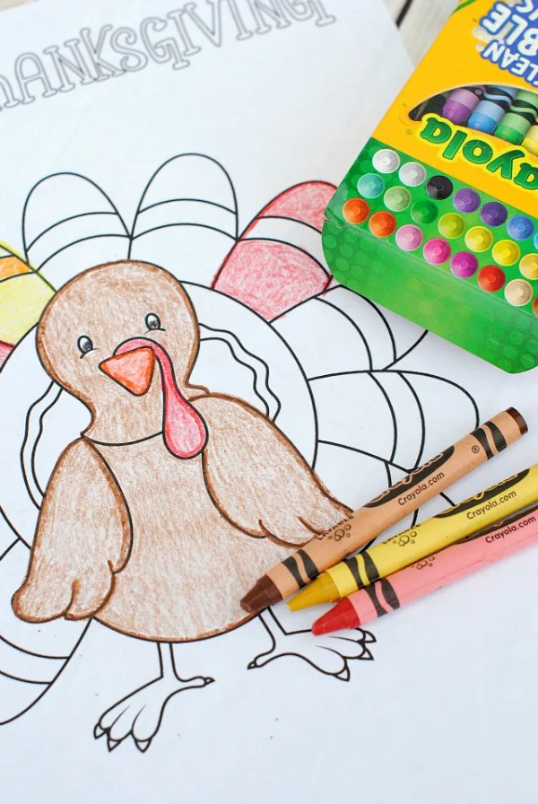 free thanksgiving coloring pages printable # 22