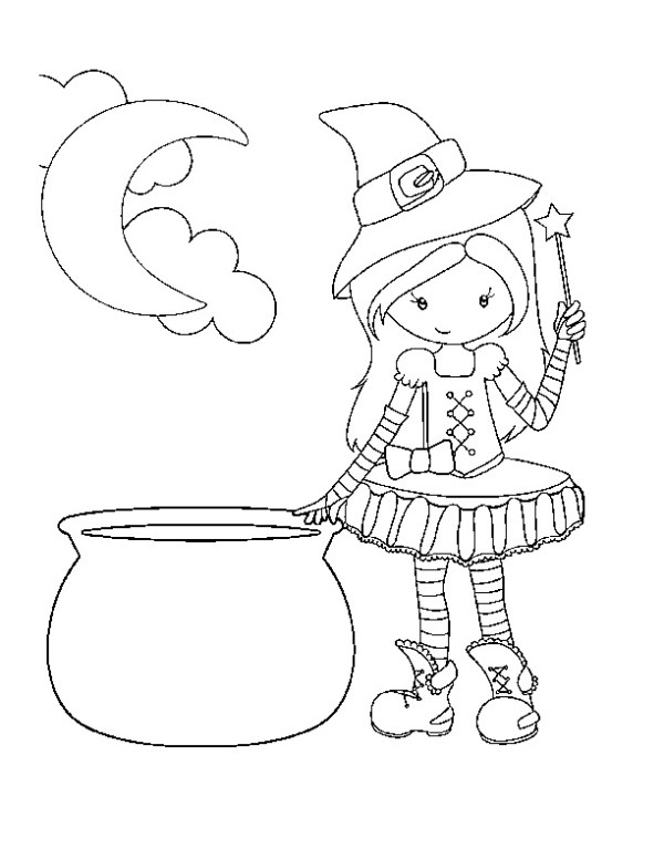 free halloween printable coloring pages # 13