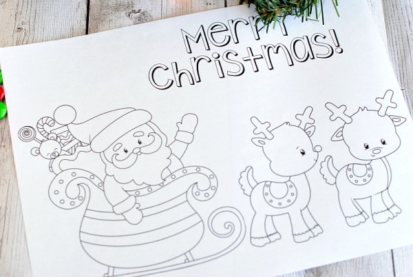 printable holiday coloring pages # 32