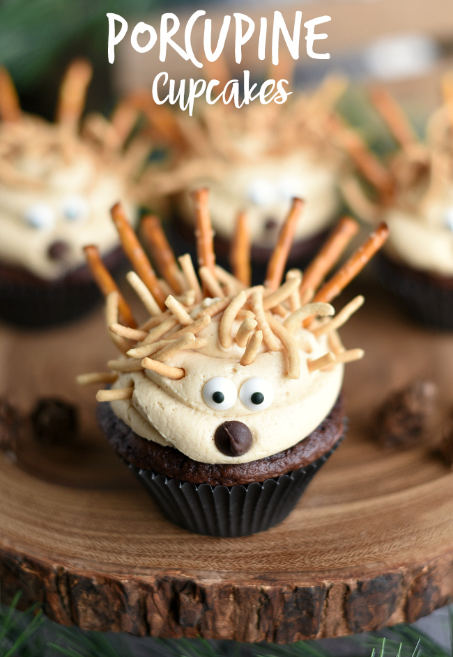 Cute Animal Cupcakes Porcupines Crazy Little Projects