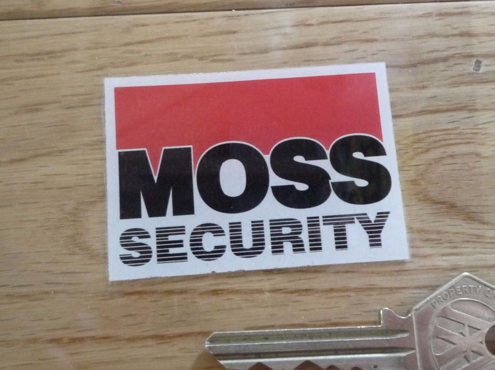 Moss Security 1000 Alarm Instruction Manual