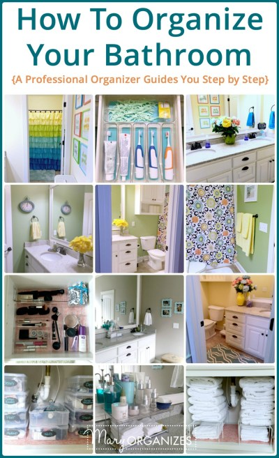How To Organize Your Bathroom -v - creatingmaryshome.com