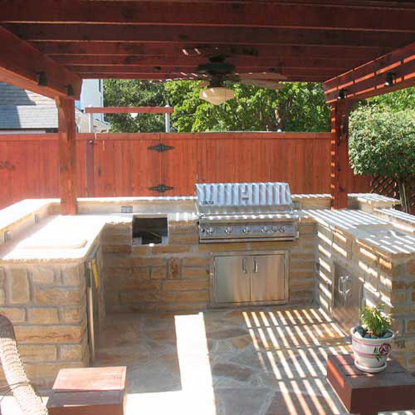 Outdoor Kitchens And Bars Creative Boundaries