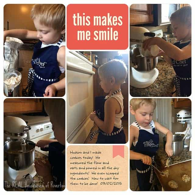 Oatmeal Chocolate Chip Cookies and Cooking with Kids
