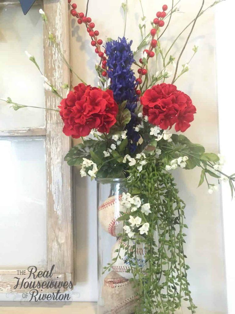 All American Floral Arrangement - housewivesofriverton.com