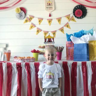 Big Top Birthday with Cricut Maker