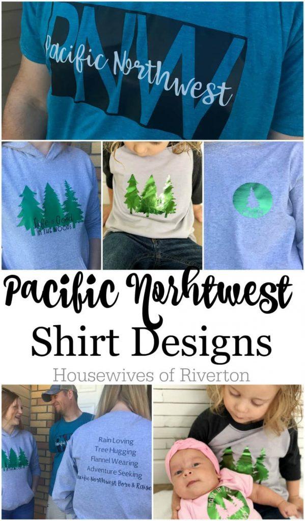 Pacific Northwest Shirt Designs | www.housewivesofriverton.com