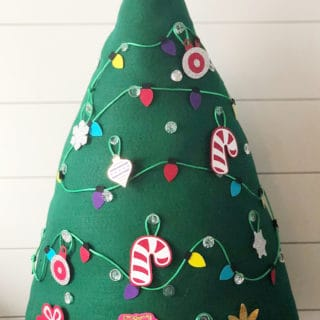 Kids Felt Christmas Tree with Cricut