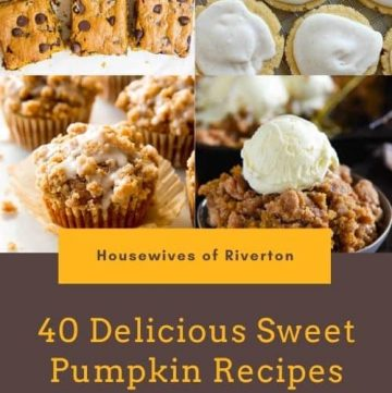 40 Sweet Pumpkin Recipes