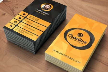 50 free PSD business card template designs   Creative Nerds agency business card