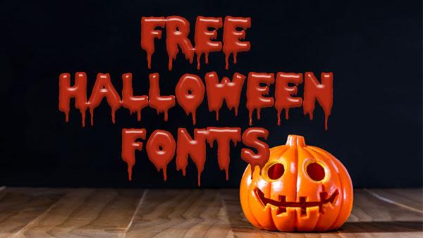free halloween fonts # 26