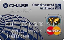 continental airlines credit card - 207×130
