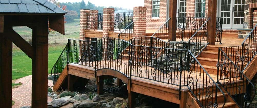 Exterior Home Improvements Cregger Construction Baltimore Maryland | Outdoor Stair Contractors Near Me | Wood | Stair Railing | Metal | Trex | Spiral Staircase