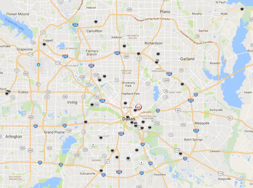2017 Washington Dc Crime Map