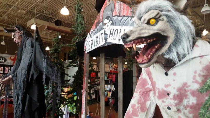 spirit halloween store tour walkthrough canada spirit halloween store tour