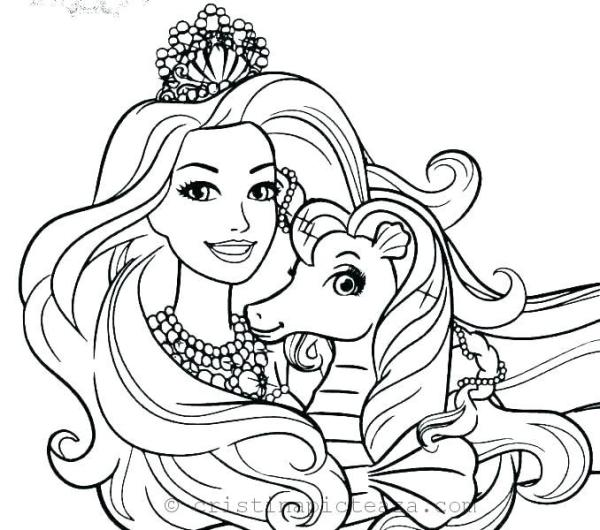 barbie coloring pages # 40