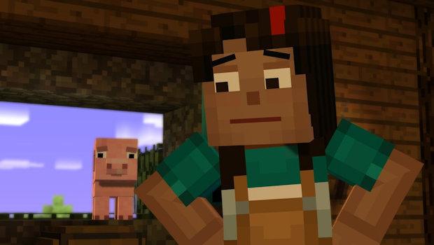 Minecraft Mode Male Jesse Story